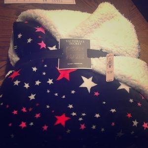Victoria's Secret Sherpa blanket